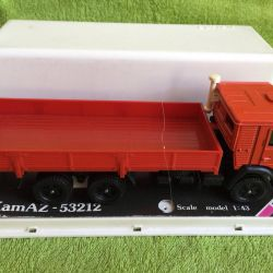 Model Kamaz-53212 new in boxing of the USSR