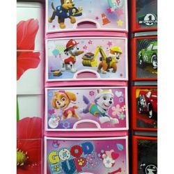 Chest M6099 4 sections Paw Patrol 1 d / girls