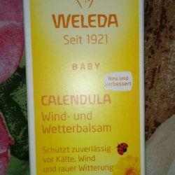 Balm Weleda rüzgardan korunma, bebekler için soğuk