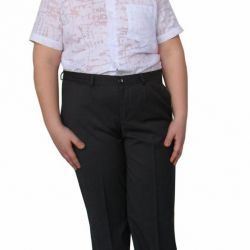 New suit pants for a boy height 146-152