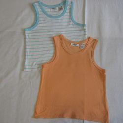 Mike Children's T-shirt sleeveless 104 set
