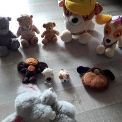 Favorite soft toys