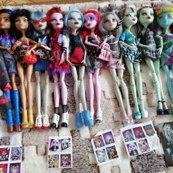 Original. Monster High dolls.