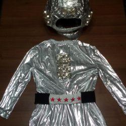 Костюм космонавта,на 9-10 лет