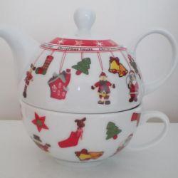 Набір чайний Егоїст. Чайник заварний + чашка