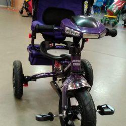 Three-wheeled bike