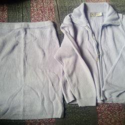 Takım Elbise Ceket etek triko