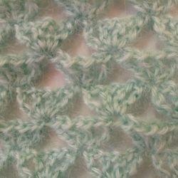 Kerchief mohair, new, handmade