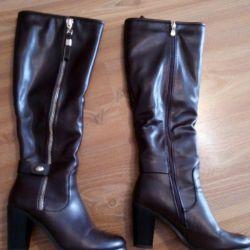Winter boots bu leatherette