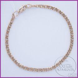 Gold bracelet 585 samples. Article A0315.