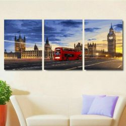 Modular picture by numbers Lights of night London