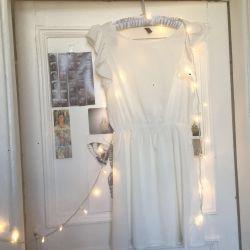 Νέο λευκό φόρεμα zara