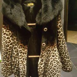 Fur coat almost new
