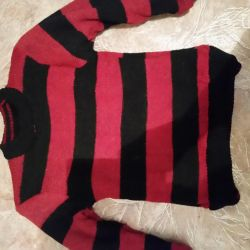 Double-sided sweater