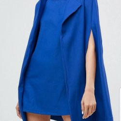 Dress with Cape new from Europe
