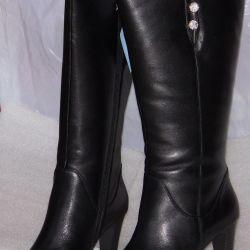 Winter 36-37-38-39-40 black boots Cavaletto
