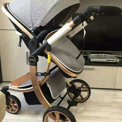 Aimile 2 in 1 transformer stroller