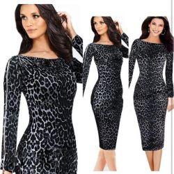 Leopar kılıfı elbise.New.r.50-52.