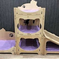 Big house for cats. Any design!
