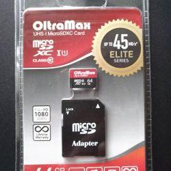 Olta MAX 64 Gb new memory card in factory package