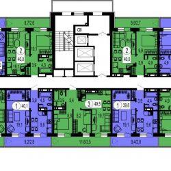 Apartment, 1 room, 28.1 m²