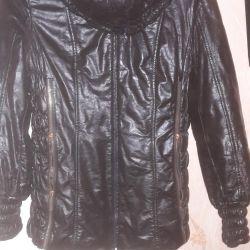 Куртка кожаная р48-50