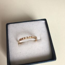 new gold ring