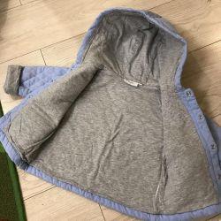 Курточка детская лeгкая  ( от +15гр), р 80