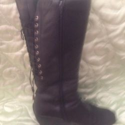 2 ζευγάρια χειμωνιάτικων μπότες! γνήσιο δέρμα και γούνα, σουέτ