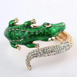 Crocodile bracelet