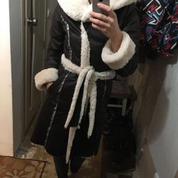 Sheepskin coat Zolla