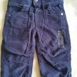 Çocuk pantolonu yenileri. 57-62sm