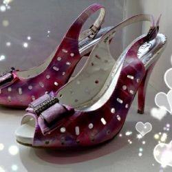 New sandals