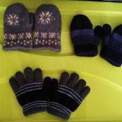 Mittens, mănuși pentru copii