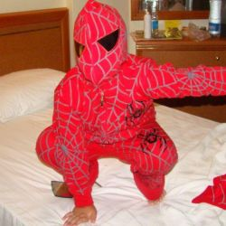 Sports suit Spiderman