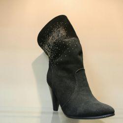 82. Eurozyme boots p.36 suede, nat.meh