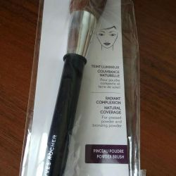 Brush for makeup in willows