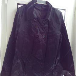 Куртка шелковая короткая