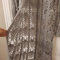Knitted Cape Cardigan