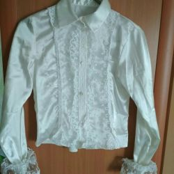 Blouse for girls 10-11 years.