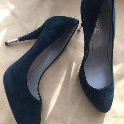 Pantofi noi, piele de piele, p37 Italia 🇮🇹