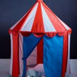 Children's tent tent. Diam: 1m. High: 1,2m.Sweden.