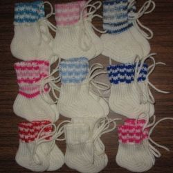 warm wool socks for babies