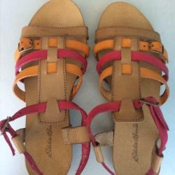 Sandals p. 37 new leather