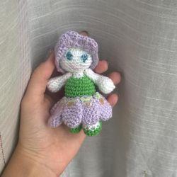Handmade Flower Doll