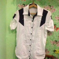 Женская рубашка размер 46-48