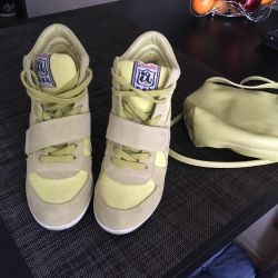 Ash sneakers on a wedge
