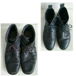 Boots skin demi-season, 2 pairs 40 solution