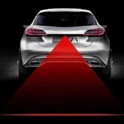 Lampa de ceață cu laser auto