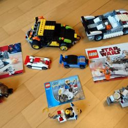 Lego cars and star wars